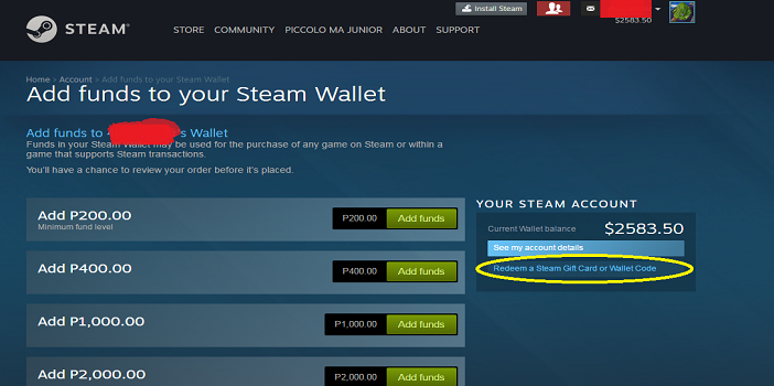 Redeem-Free-Steam-Wallet-Codes