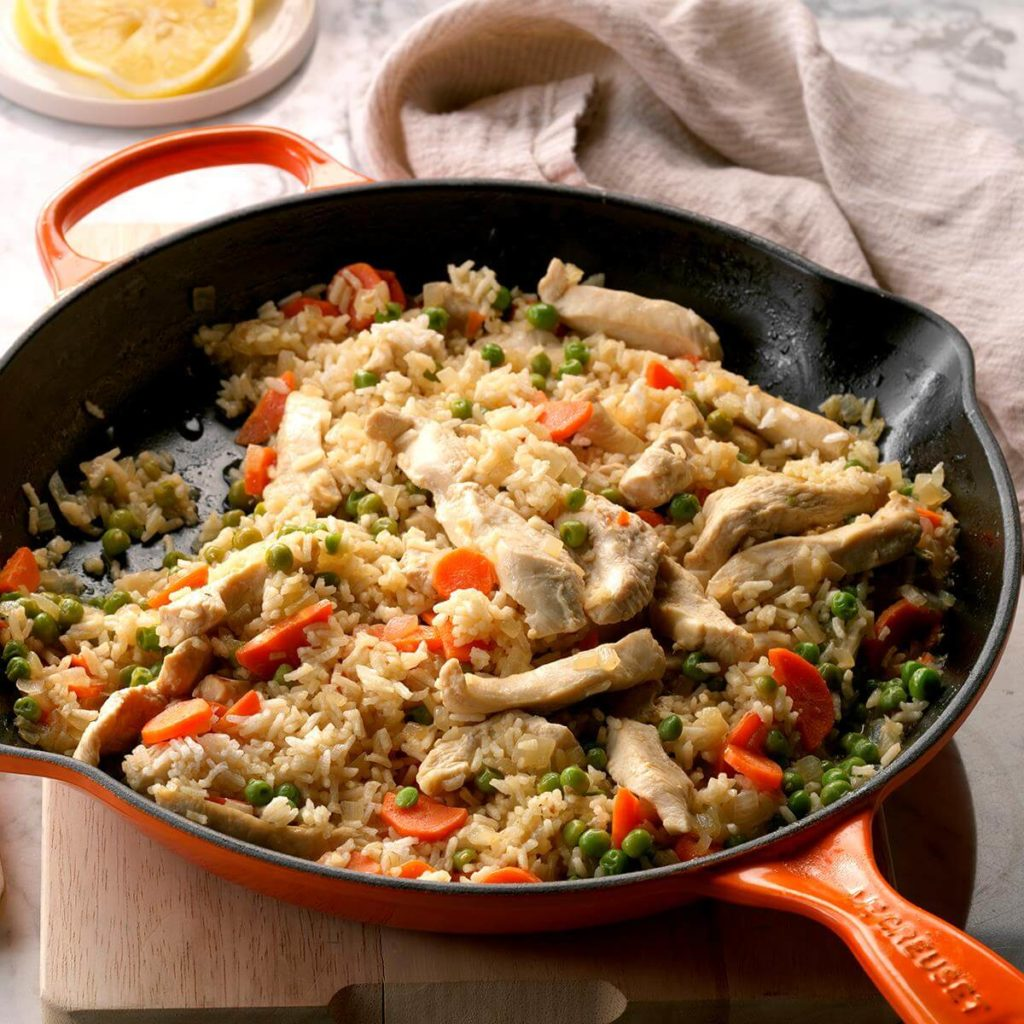 Lemon-Chicken-and-Rice