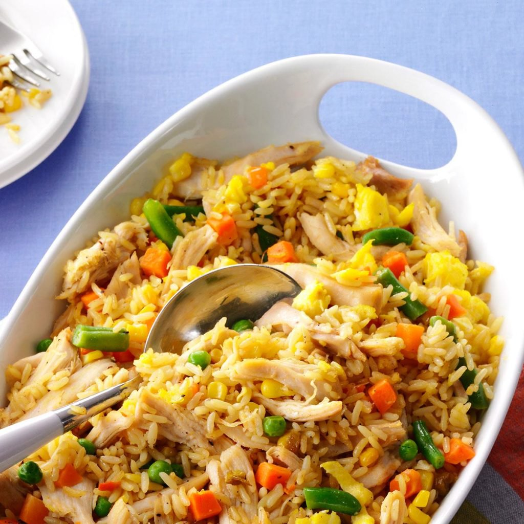 Super-Quick-Chicken-Fried-Rice